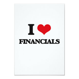i LOVE fINANCIALS Custom Invites