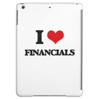 i LOVE fINANCIALS iPad Air Cover