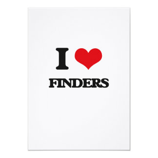 i LOVE fINDERS Card