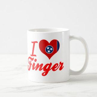 I Love Finger, Tennessee Mug