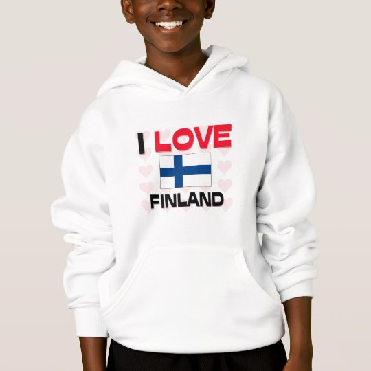 I Love Finland Hoodie