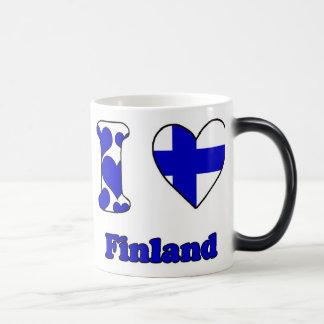 I love Finland Magic Mug