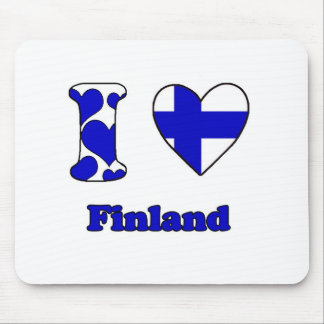 I love Finland Mouse Pad