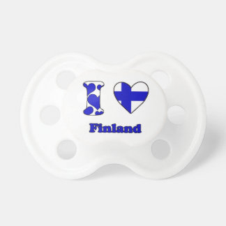 I love Finland Pacifier