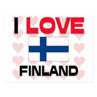 I Love Finland Postcard