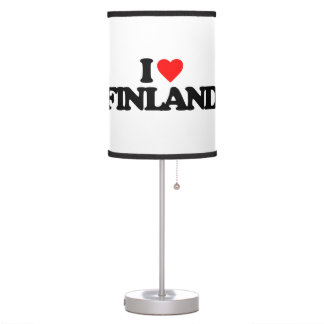 I LOVE FINLAND TABLE LAMP