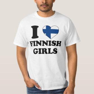 I love Finnish Girls T-Shirt