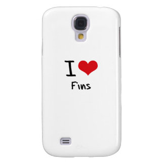 I Love Fins Galaxy S4 Covers