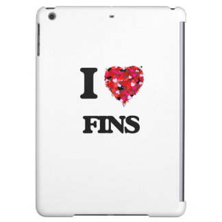 I Love Fins Cover For iPad Air