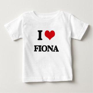 I Love Fiona Tshirts