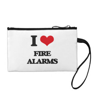 i LOVE fIRE aLARMS Coin Wallet
