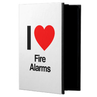 i love fire alarms case for iPad air