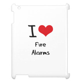 I Love Fire Alarms Case For The iPad