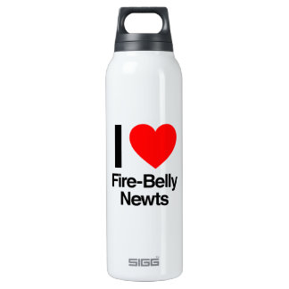 i love fire-belly newts 16 oz insulated SIGG thermos water bottle