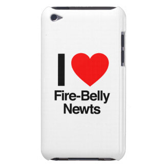 i love fire-belly newts barely there iPod case