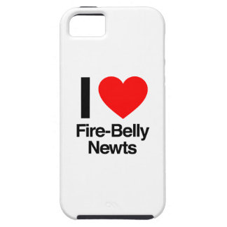 i love fire-belly newts iPhone 5 cover