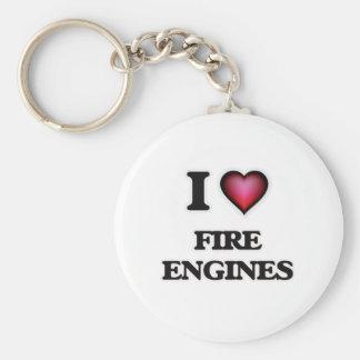 I love Fire Engines Keychain