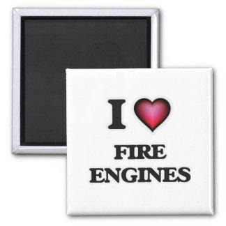 I love Fire Engines Magnet