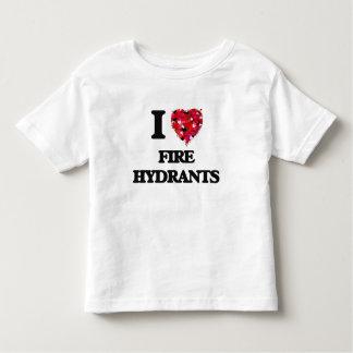 I Love Fire Hydrants Shirt