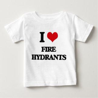 i LOVE fIRE hYDRANTS Tshirt