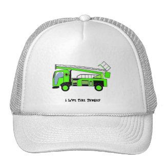 I Love Fire Trucks Hat1 Trucker Hats