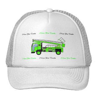 I Love Fire Trucks Hat 2