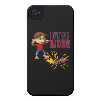 I Love Firecrackers iPhone 4 Covers