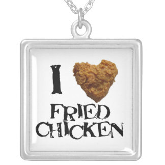 I love Fired Chicken Necklace