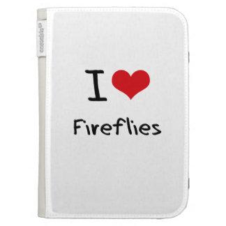 I Love Fireflies Kindle 3G Case