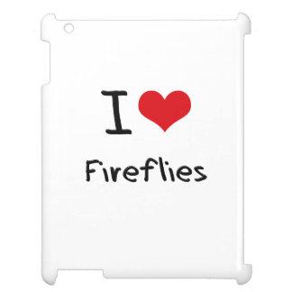 I Love Fireflies iPad Cover