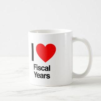 i love fiscal years coffee mug