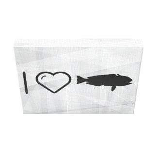 I Love Fish Buyers Canvas Print