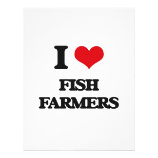 i LOVE fISH fARMERS Full Color Flyer