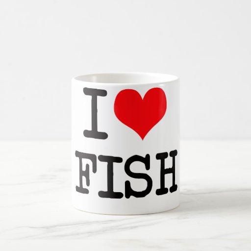 I love fish mug zazzle for I love the fishes