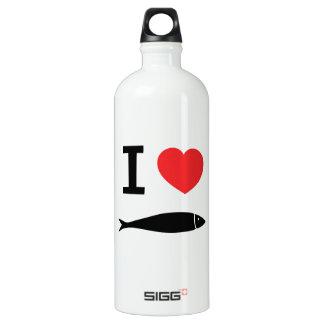 I love fish SIGG traveler 1.0L water bottle