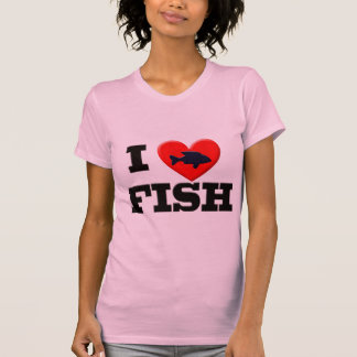 I LOVE FISH T-Shirt