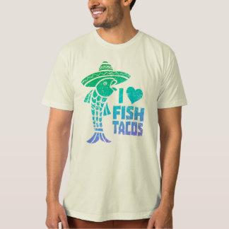 I Love Fish Tacos tee