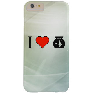 I Love  Fishbowls Barely There iPhone 6 Plus Case