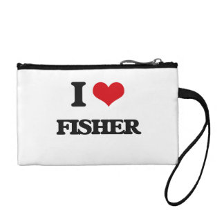 I Love Fisher Coin Wallets