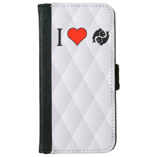 I Love Fishes iPhone 6 Wallet Case
