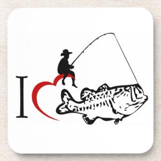 I love fishing coaster