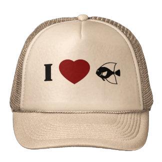 I Love Fishing/Fish hat