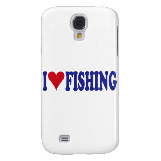 I Love Fishing Galaxy S4 Case