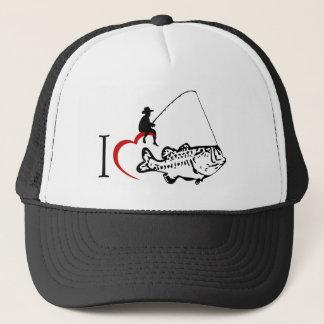 I love fishing hat
