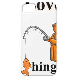 I Love Fishing iPhone SE/5/5s Case