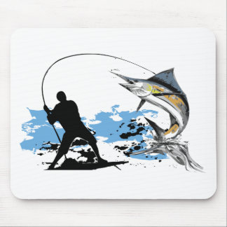 I love Fishing Mouse Pads