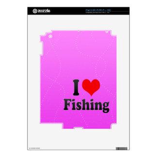 I love Fishing iPad 2 Skins