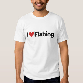 I Love Fishing T-shirt