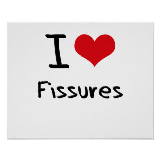 I Love Fissures Poster
