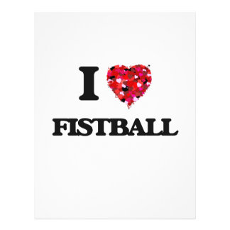 "I Love Fistball 8.5"" X 11"" Flyer"